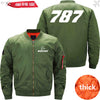 PilotX Jacket Army green thick / XS B 787 Jacket -US Size