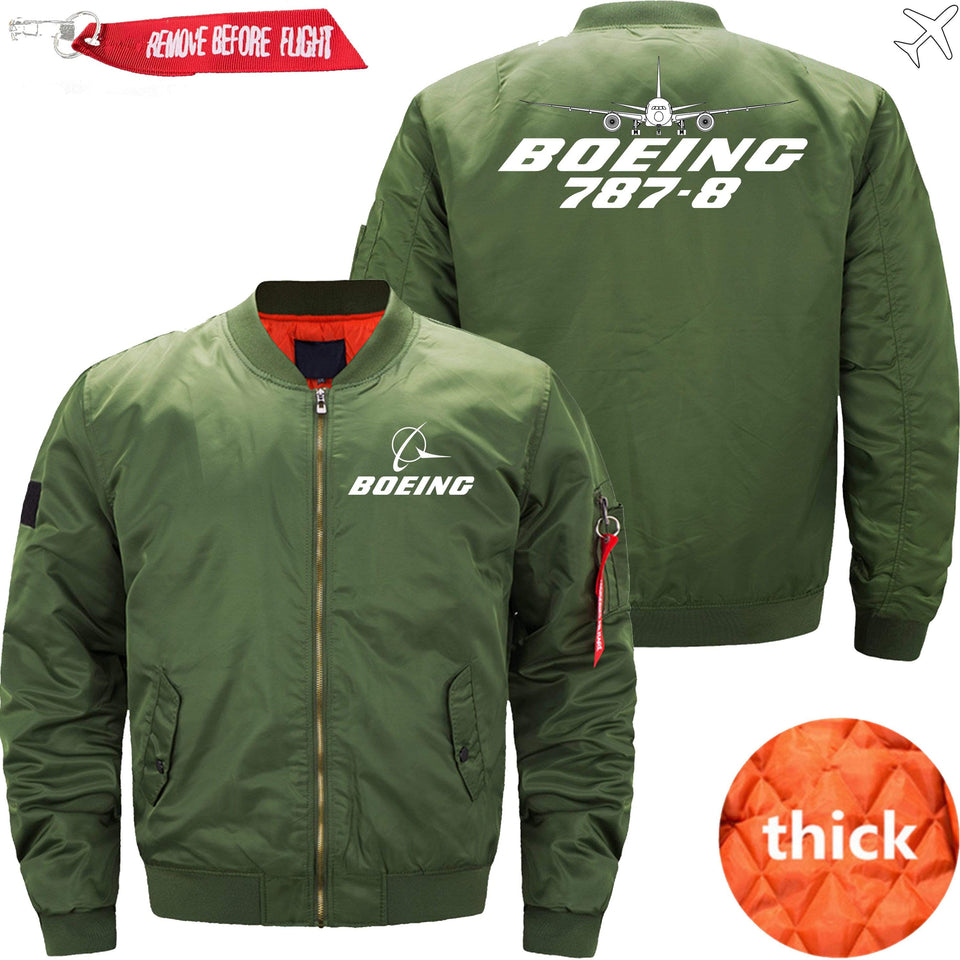 PilotX Jacket Army green thick / XS Boeing 787-8 -US Size