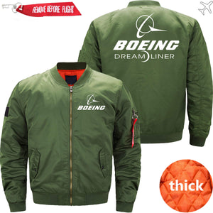 PilotX Jacket Army green thick / XS Boeing 787 Dreamliner -US Size