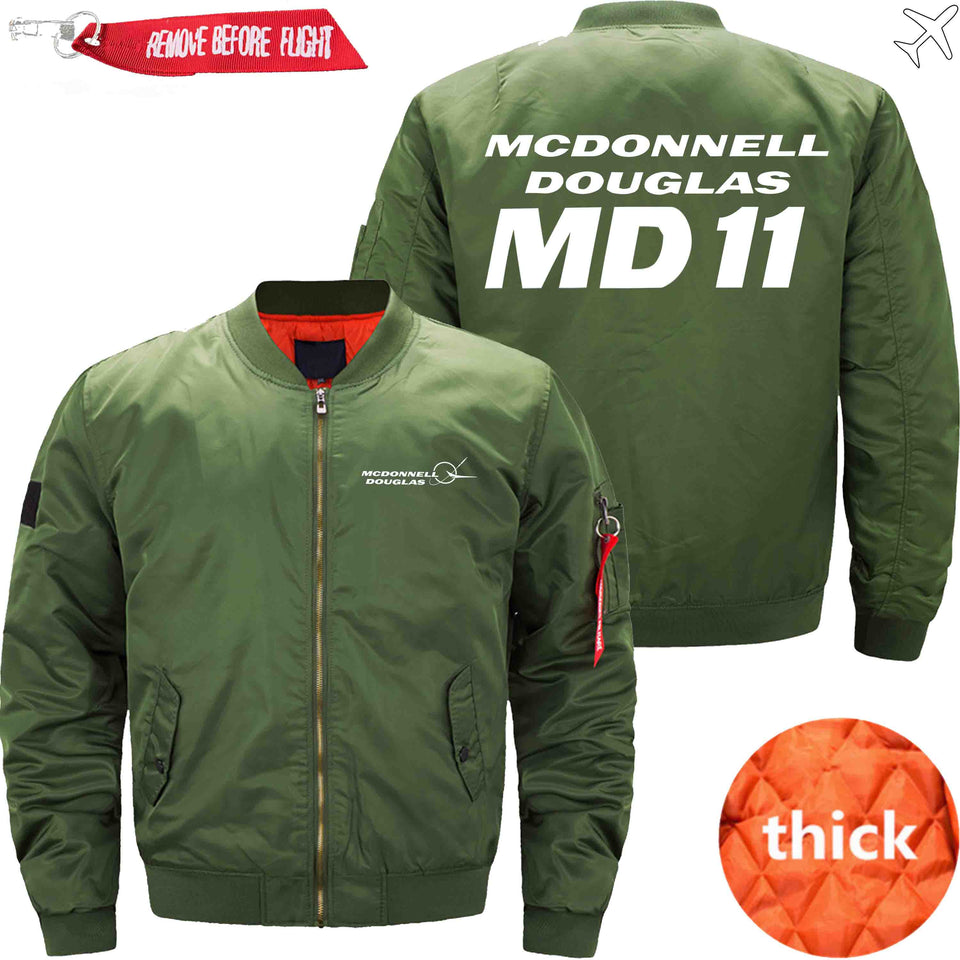 PilotX Jacket Army green thick / XS McDonnell Douglas MD-11 Jacket -US Size