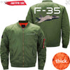 PilotX Jacket Army green thick / XXL F 35 Jacket -US Size