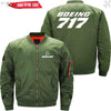 PilotX Jacket Army green thin / S B 717 Jacket -US Size