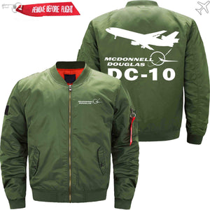 PilotX Jacket Army green thin / S McDonnell Douglas DC-10 Jacket -US Size