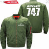 PilotX Jacket Army green thin / S New The 747 Jacket -US Size