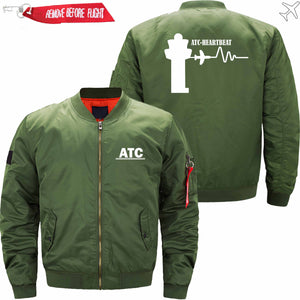 PilotX Jacket Army green thin / S (US XXS) ATC- Heartbeat Jacket -US Size