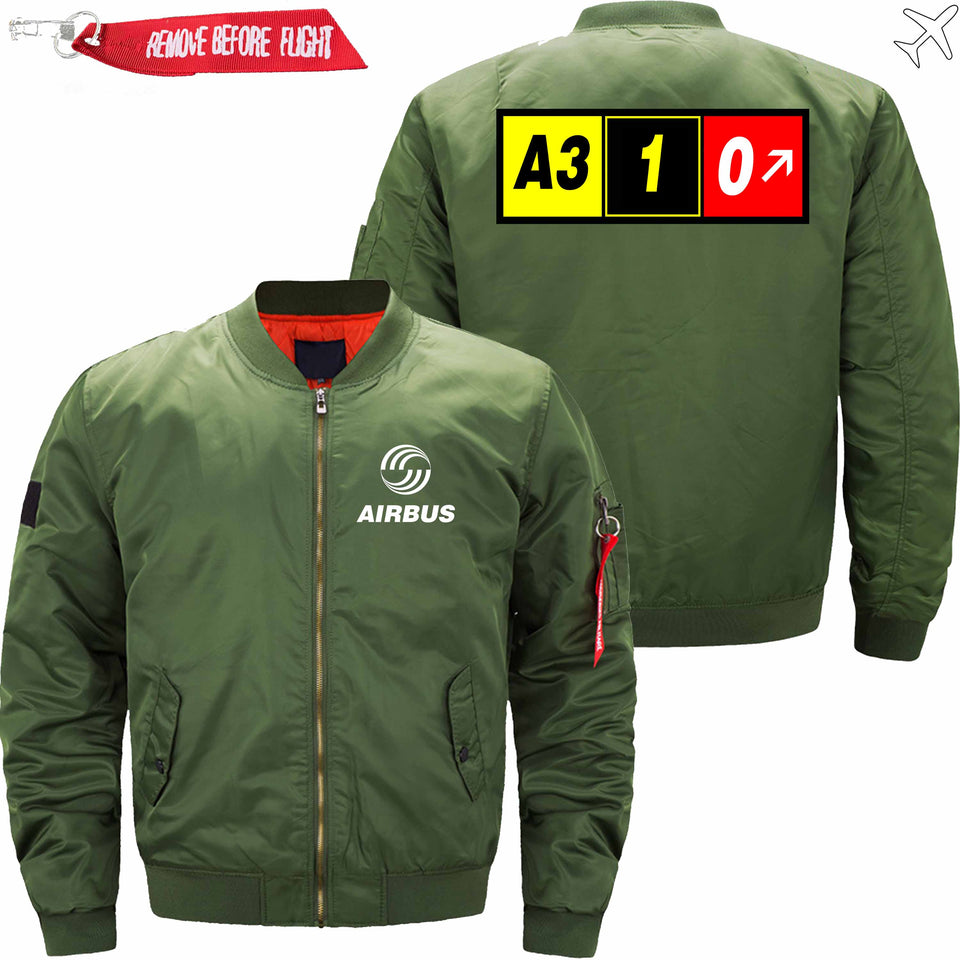 PilotX Jacket Army green thin / XS AIRBUS A310 Jacket -US Size