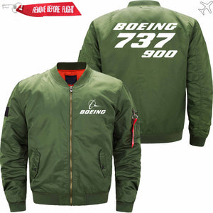 PilotX Jacket Army green thin / XS B 737-900 Jacket -US Size
