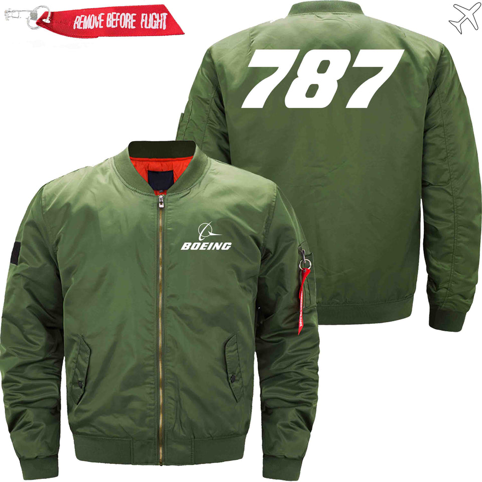 PilotX Jacket Army green thin / XS B 787 Jacket -US Size
