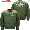 PilotX Jacket Army green thin / XS Boeing 787-8 -US Size
