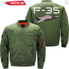 PilotX Jacket Army green thin / XS F 35 Jacket -US Size