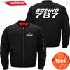 PilotX Jacket Black thick / S B 787 Jacket -US Size