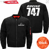 PilotX Jacket Black thick / S New The 747 Jacket -US Size
