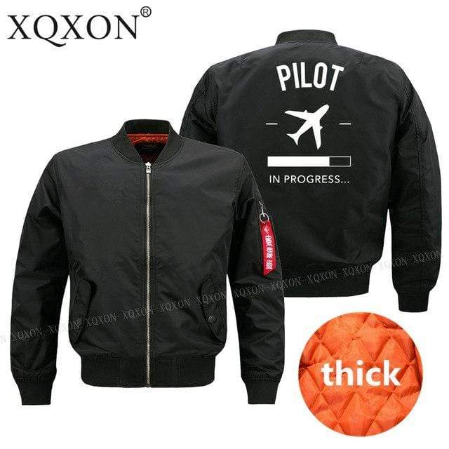 PilotX Jacket Black thick / S Pilot in Progress Jacket -US Size