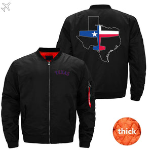 PilotX Jacket Black thick / S Texas Aviation Jacket -US Size