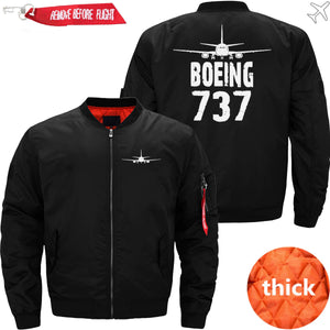 PilotX Jacket Black thick / S The 737 Jacket -US Size