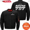 PilotX Jacket Black thick / S The 787 Jacket -US Size