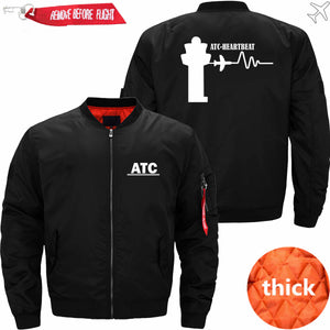 PilotX Jacket Black thick / S (US XXS) ATC- Heartbeat Jacket -US Size