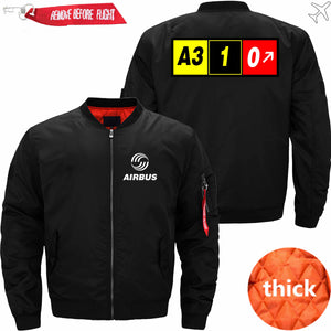 PilotX Jacket Black thick / XS AIRBUS A310 Jacket -US Size