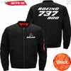 PilotX Jacket Black thick / XS B 737-900 Jacket -US Size