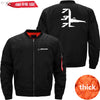 PilotX Jacket Black thick / XS B 737 Jacket -US Size