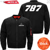 PilotX Jacket Black thick / XS B 787 Jacket -US Size