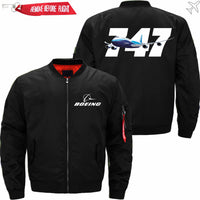 PilotX Jacket Black thin / S B 747 Jacket -US Size