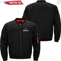 PilotX Jacket Black thin / S B LOGO Jacket -US Size