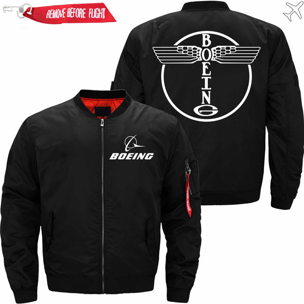 PilotX Jacket Black thin / S B OLD LOGO Jacket -US Size