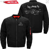 PilotX Jacket Black thin / S How Planes Fly Jacket -US Size