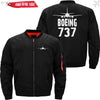 PilotX Jacket Black thin / S The 737 Jacket -US Size