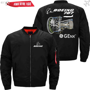 PilotX Jacket Black thin / S The GENX The 787 Jacket -US Size