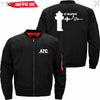 PilotX Jacket Black thin / S (US XXS) ATC- Heartbeat Jacket -US Size