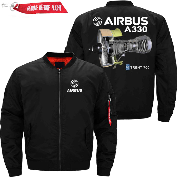 PilotX Jacket Black thin / XS Airbus A330 TRENT 700 Jacket -US Size