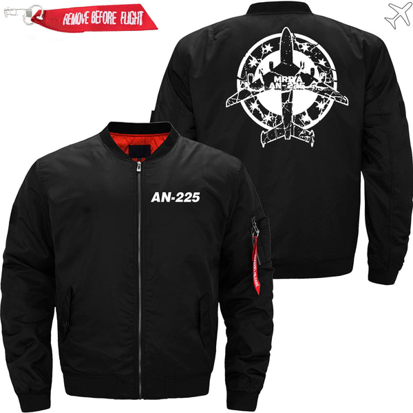 PilotX Jacket Black thin / XS Antonov An-225 Stamp -US Size
