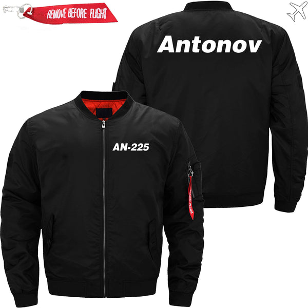 PilotX Jacket Black thin / XS Antonov An-225 -US Size