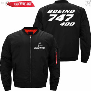 PilotX Jacket Black thin / XS B 747-400 Jacket -US Size