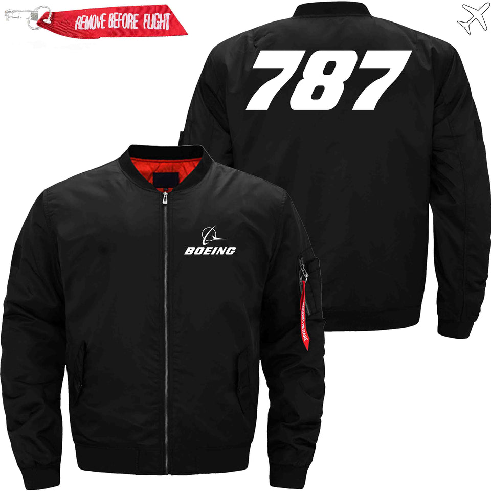 PilotX Jacket Black thin / XS B 787 Jacket -US Size