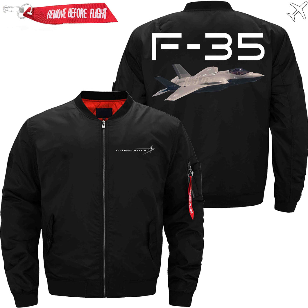 PilotX Jacket Black thin / XS F 35 Jacket -US Size