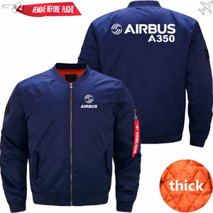 PilotX Jacket Dark blue thick / S Airbus A350 Jacket -US Size