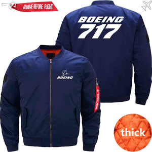 PilotX Jacket Dark blue thick / S B 717 Jacket -US Size