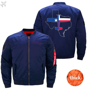 PilotX Jacket Dark blue thick / S Texas Aviation Jacket -US Size