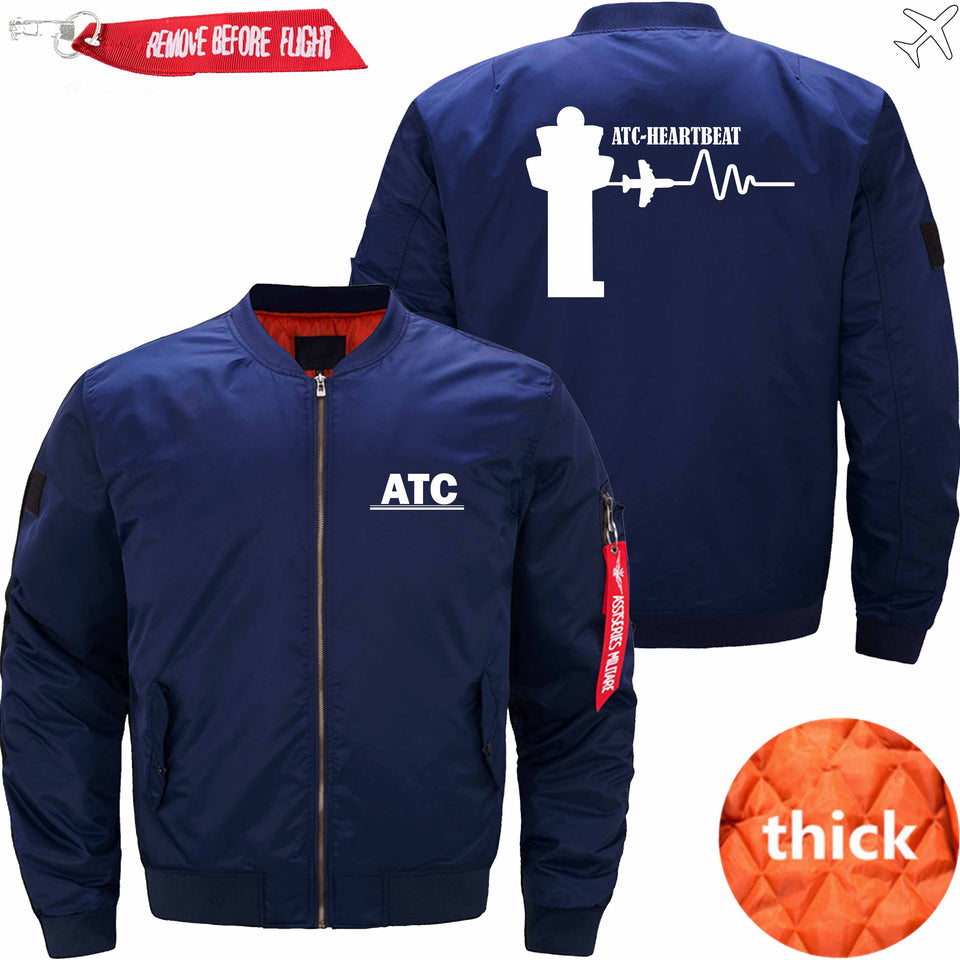PilotX Jacket Dark blue thick / S (US XXS) ATC- Heartbeat Jacket -US Size