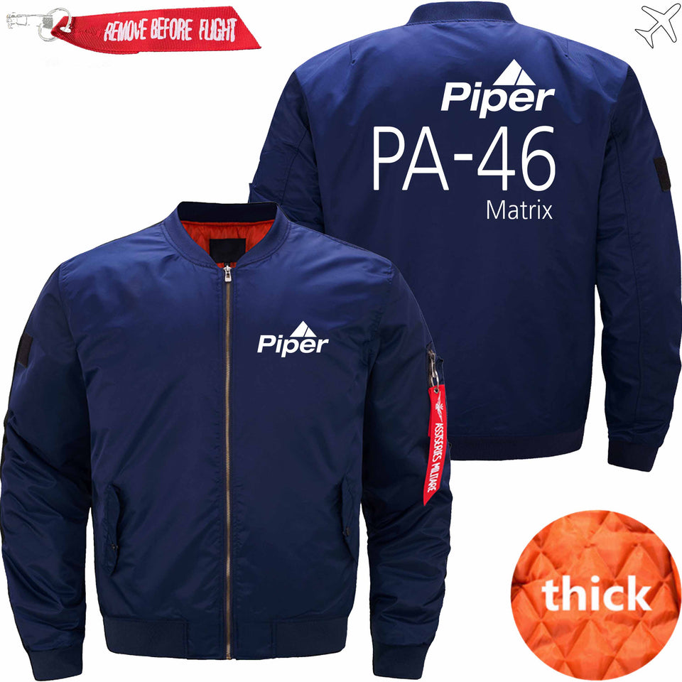 PilotX Jacket Dark blue thick / S (US XXS) Piper PA-46 Jacket -US Size