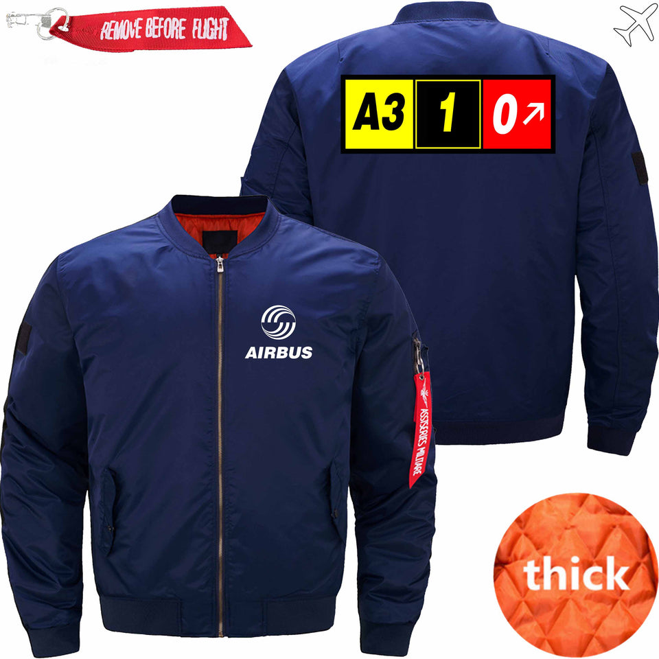 PilotX Jacket Dark blue thick / XS AIRBUS A310 Jacket -US Size