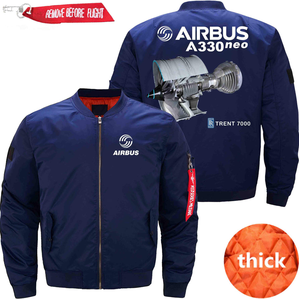PilotX Jacket Dark blue thick / XS Airbus A330 Neo Trtent 7000 Jacket -US Size