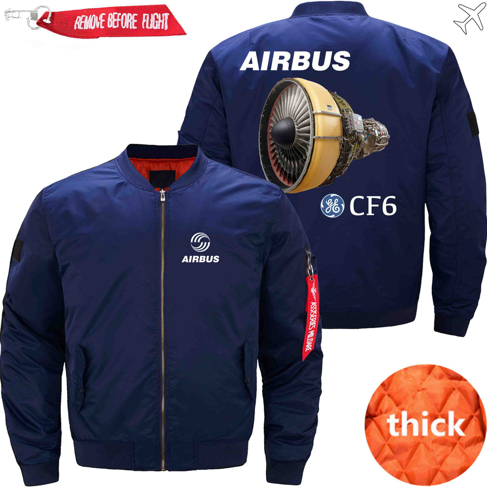 PilotX Jacket Dark blue thick / XS Airbus & CF6 Jacket -US Size