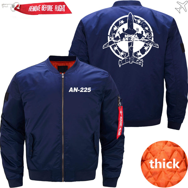PilotX Jacket Dark blue thin / XS Antonov An-225 Stamp -US Size