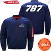 PilotX Jacket Dark blue thick / XS B 787 Jacket -US Size
