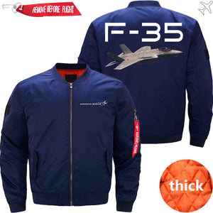 PilotX Jacket Dark blue thick / XS F 35 Jacket -US Size