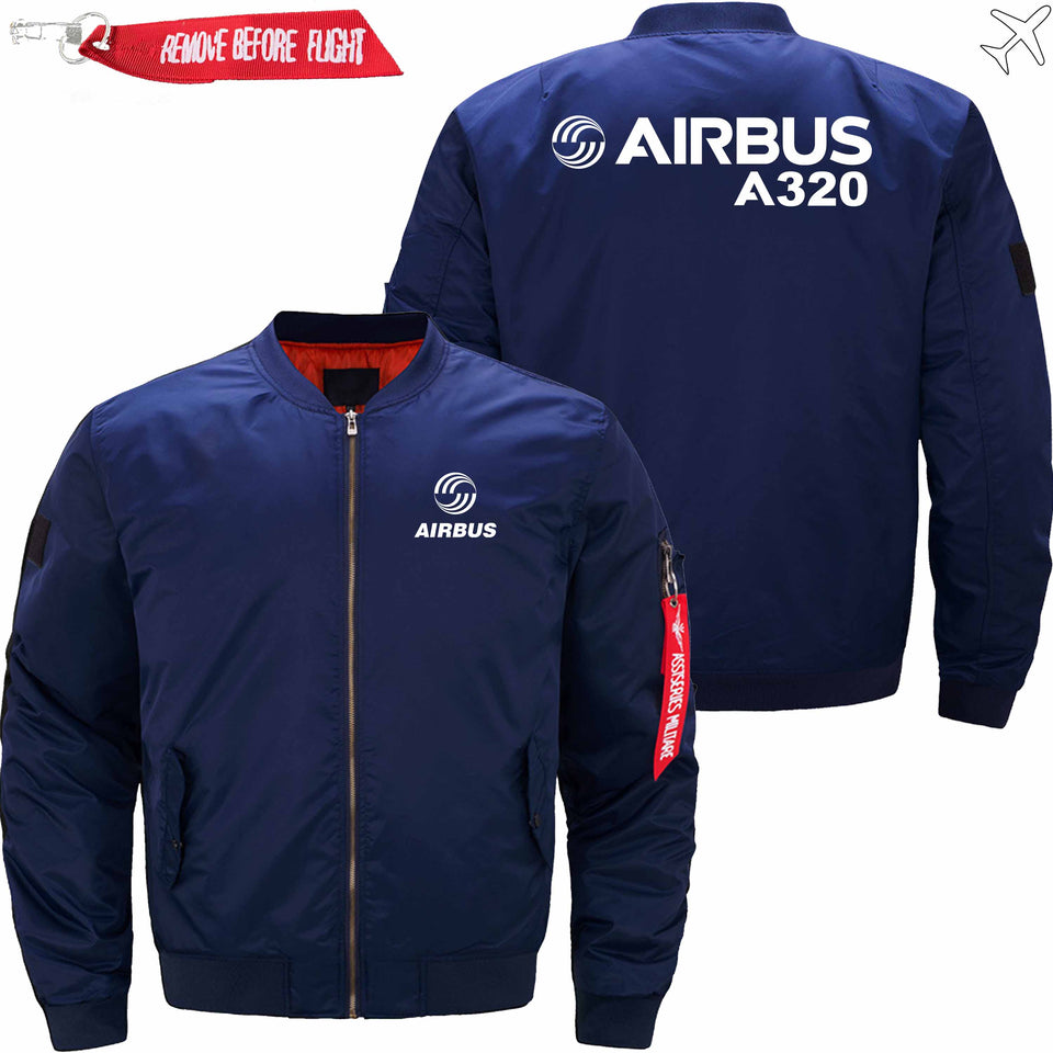 PilotX Jacket Dark blue thin / S Airbus A320 Jacket -US Size